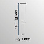 Asfaltnageltacker Powerfix DPN31/45 2
