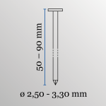 Coilnageltacker Powerfix CN90 2